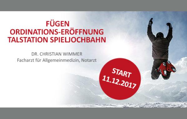 Fügen Ordinations-Eröffnung