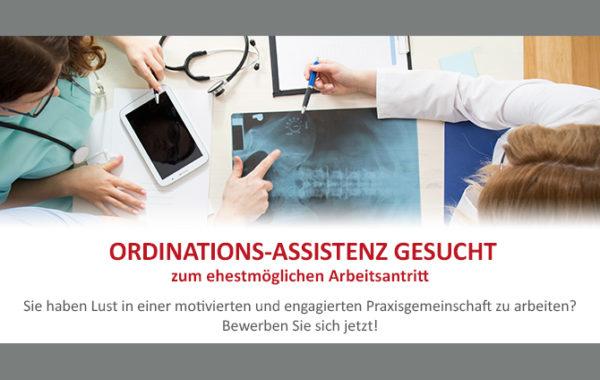 Ordinations-Assistenz gesucht!